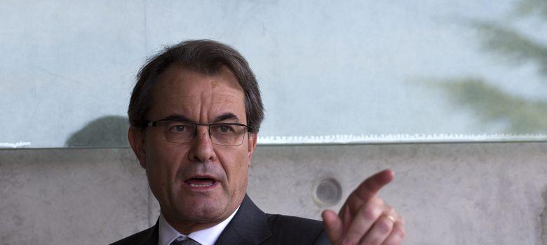 Foto: El presidente de la Generalitat de Cataluña, Artur Mas. (EFE)