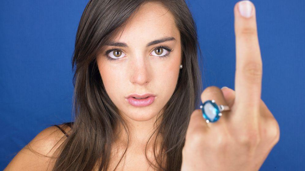 Foto: Existiendo insultos tan sonoros, ¿quién necesita utilizar gestos tan soeces? (Corbis/Morgan David de Lossy)