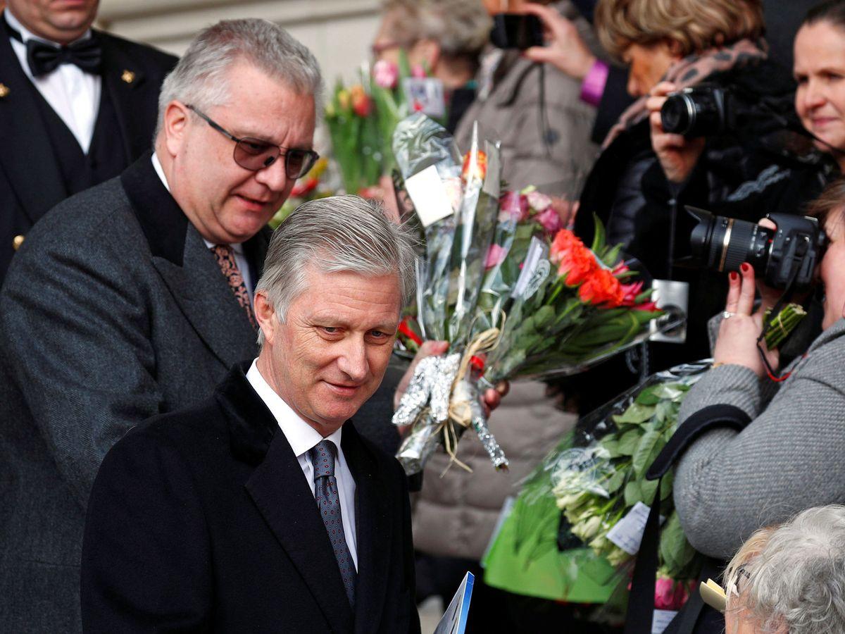 Foto: El rey Felipe y el príncipe Laurent, en una imagen de archivo. (Reuters)