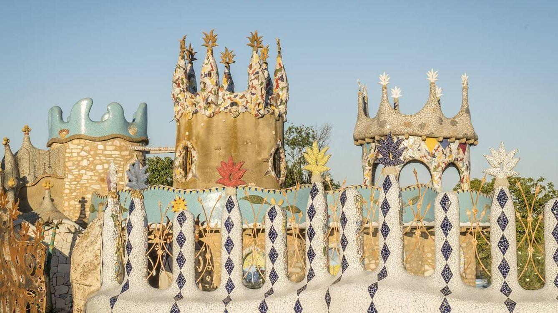 El 'Capricho de Cotrina', la increíble obra de un albañil extremeño que quiere parecerse a Gaudí