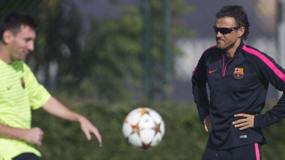 Luis Enrique cierra heridas: No planteamos un futuro sin Messi