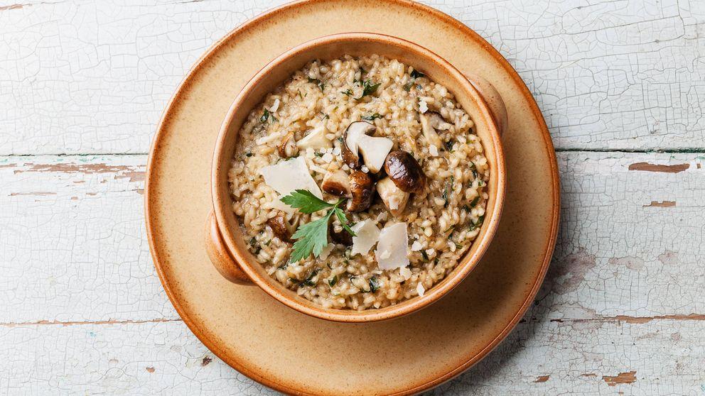 La fórmula para preparar un risotto perfecto: 'al dente' y a la vez cremoso
