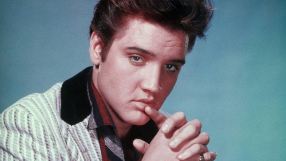 Foto: El cantante Elvis Presley en una imagen de archivo.
