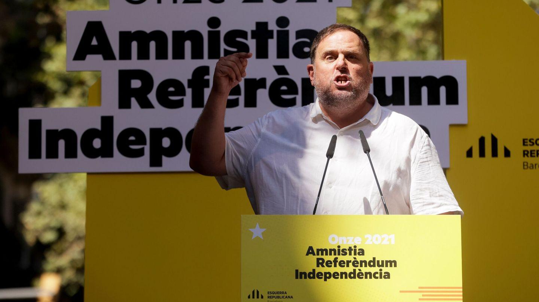 El presidente del ERC, Oriol Junqueras. (EFE)