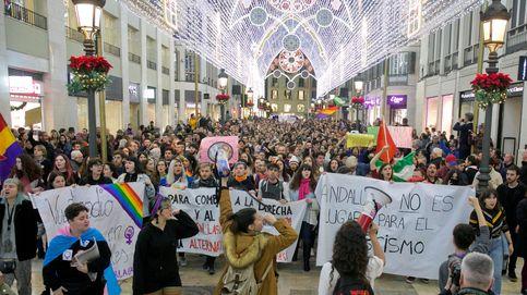 Miles de personas se manifiestan en las capitales andaluzas contra el fascismo