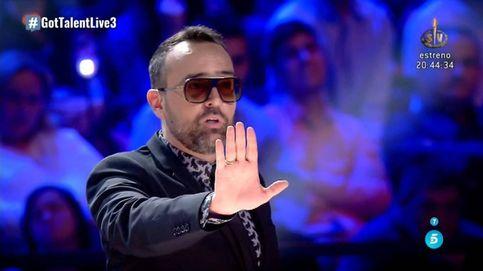 Risto explota: Si ella pasa a la final, no vengo. Si gana, no vuelvo a 'Got Talent