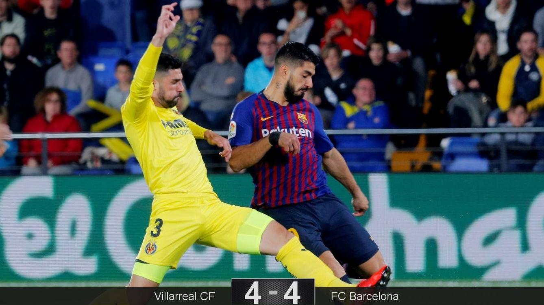 Foto: Suárez marcó el gol del empate en el último minuto. (Reuters)