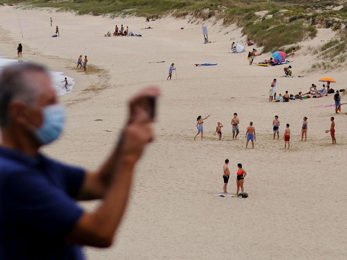 Foto: Una playa en Ferrol. (Reuters)