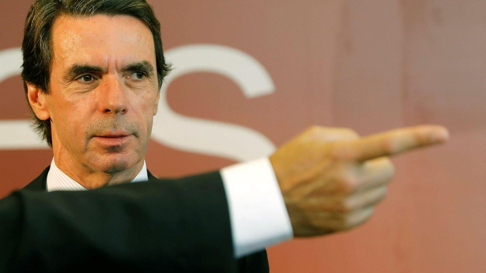 Foto: El expresidente José María Aznar. (EFE)