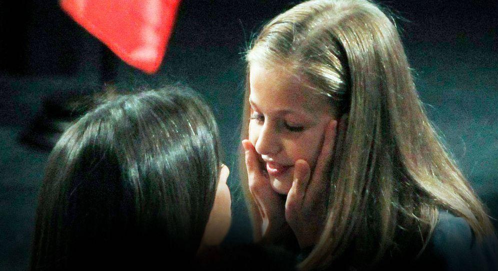 Foto: La reina Letizia y Leonor. (CP)