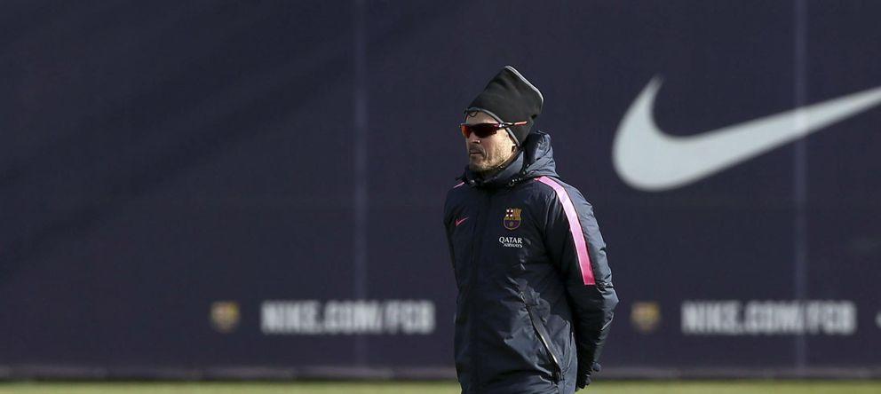 Foto: Luis Enrique confiesa que la meta es no encajar goles en la ida de Copa ante el Villarreal.