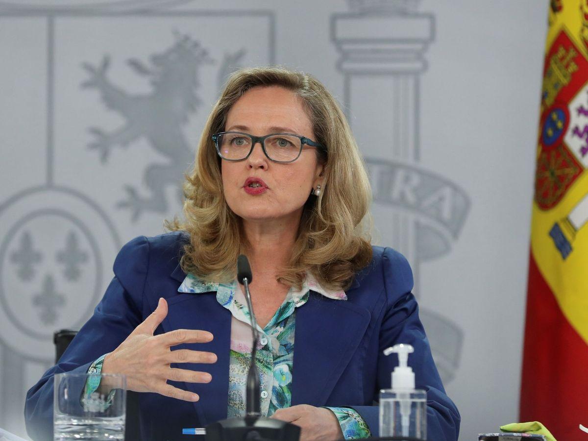 Foto: La vicepresidenta segunda y ministra de Asuntos Económicos, Nadia Calviño.