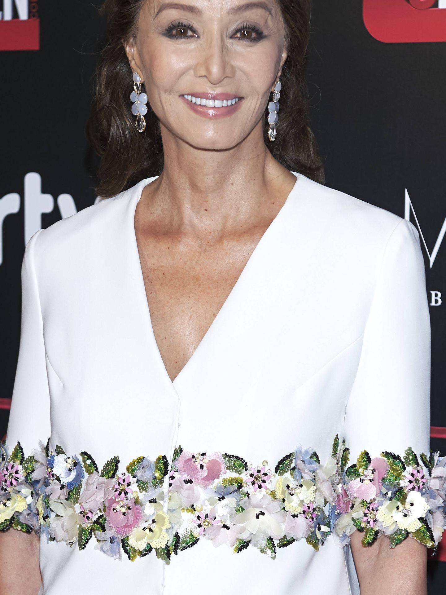 Isabel, en el 20 aniversario de 'Corazón TV'.