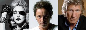 Foto: Madonna, Bruce Springsteen y Roger Waters los artistas mejor pagados