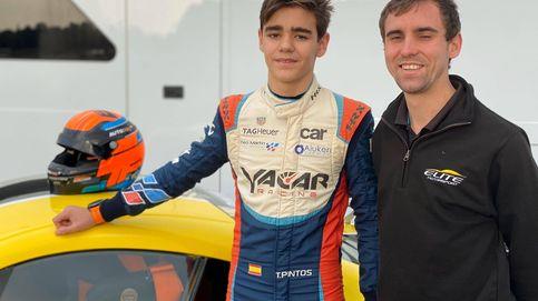 Tomás Pintos, el piloto español que ha asombrado a Gran Bretaña con solo 13 años