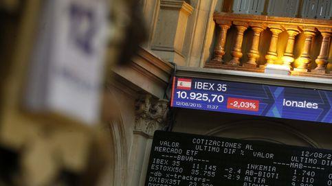 El Ibex pierde los 11.000 con una caída del 2,5% tras la devaluación del yuan
