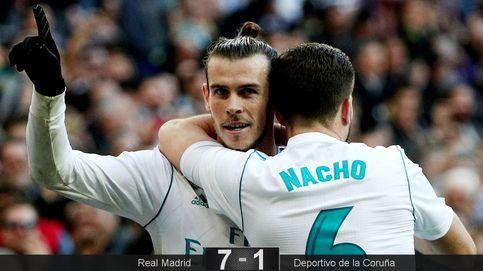 Bale y Cristiano siguen el estandarte de Nacho para sacar de la tumba al Madrid