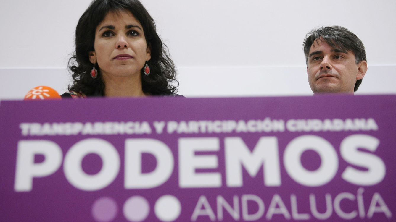 Foto: Teresa Rodríguez, líder de Podemos en Andalucía, en una imagen de archivo (EFE)
