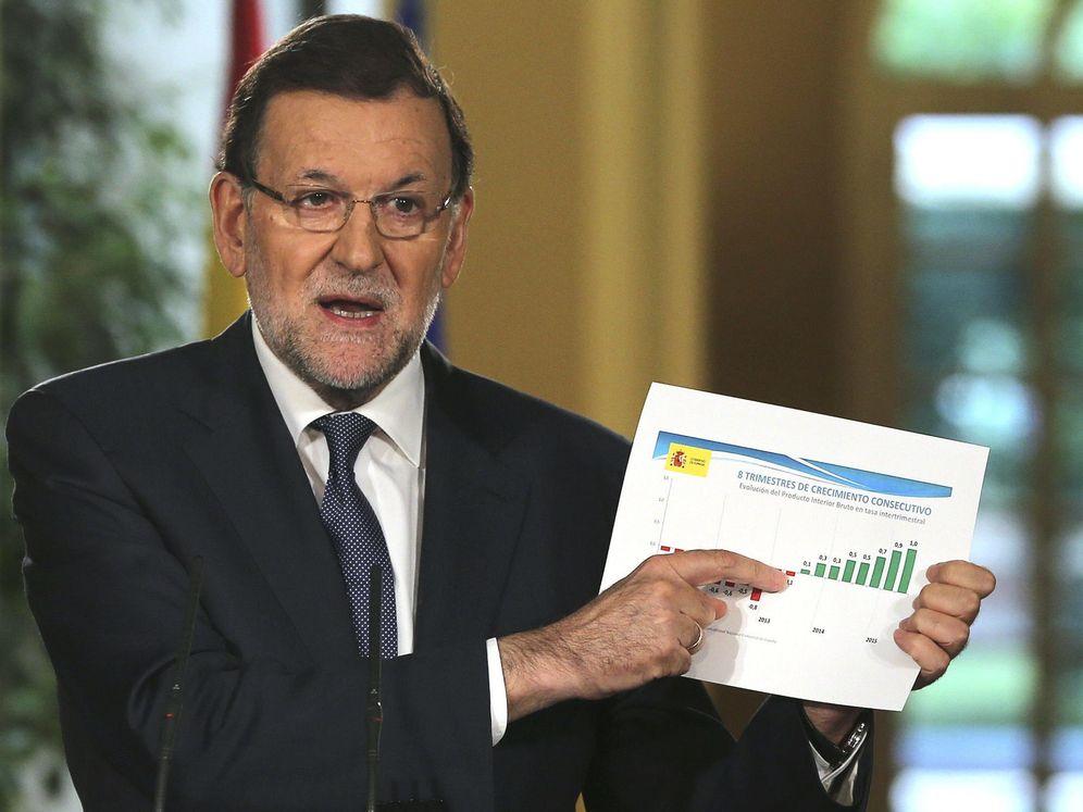 Foto: El presidente del Gobierno, Mariano Rajoy, hace balance de la legislatura y explica las prioridades de los próximos meses en una comparecencia tras la última reunión del Consejo de Ministros. (EFE)