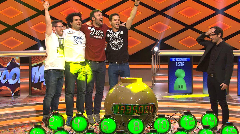 Los Rockcampers, ganadores de los más de 2,3 millones del programa.