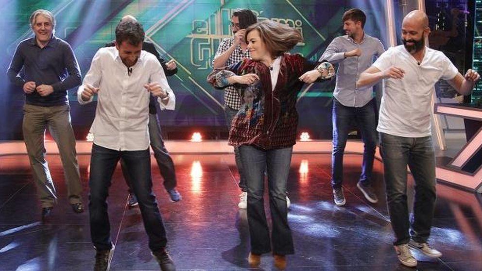El 'bailoteo' de Soraya Sáenz de Santamaría en 'El Hormiguero'