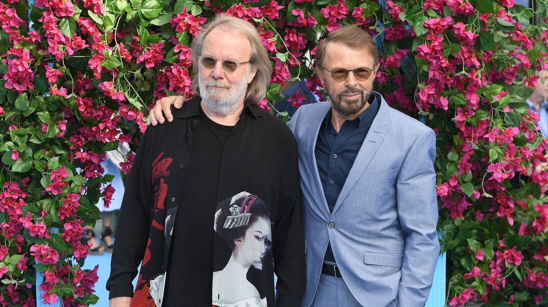 Benny Andersson y Bjorn Ulvaeus, en 2018. (Getty)