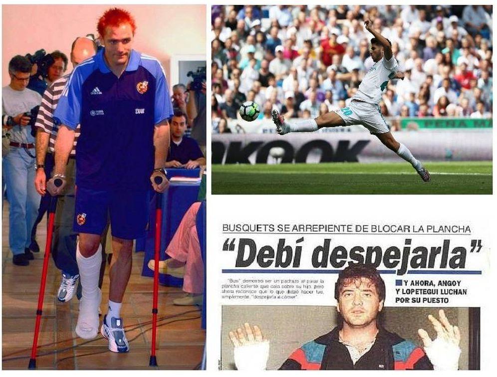 Foto: El grano de Asensio se suma a lesiones absurdas como las de Cañizares o Busquets.