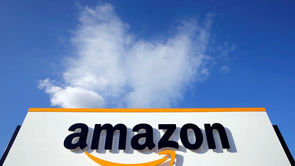 Foto: El logo de Amazon, en un centro de la compañía en Francia. (Reuters)