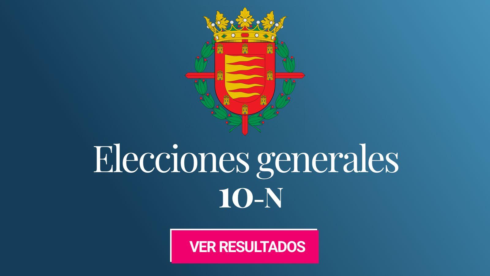 Foto: Elecciones generales 2019 en Valladolid. (C.C./EC)