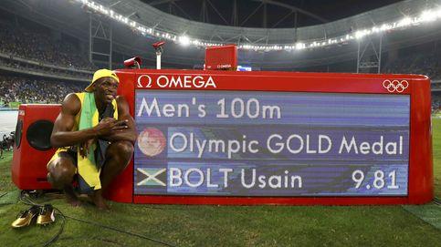 Bolt gana el oro olímpico en 100 metros en una noche en la que fue humano