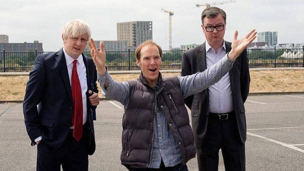 Foto: Fotograma de la película 'Brexit: The Uncivil War', cuyo protagonista principal es Dominic Cummings en la piel de Benedict Cumberbatch.