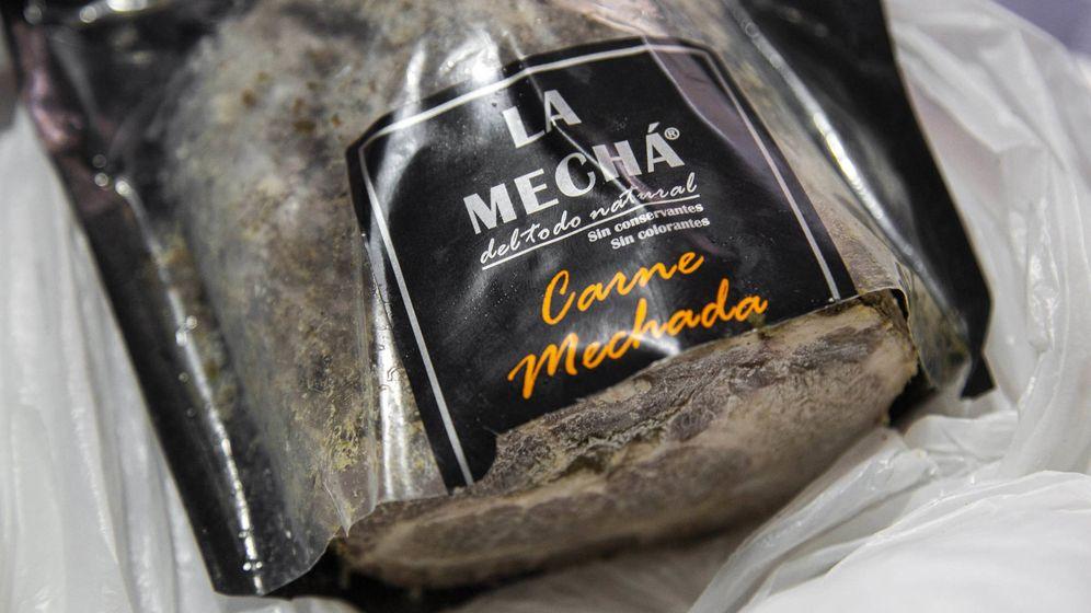 Foto: Uno de los lotes de Magrudis contaminado con listeria.