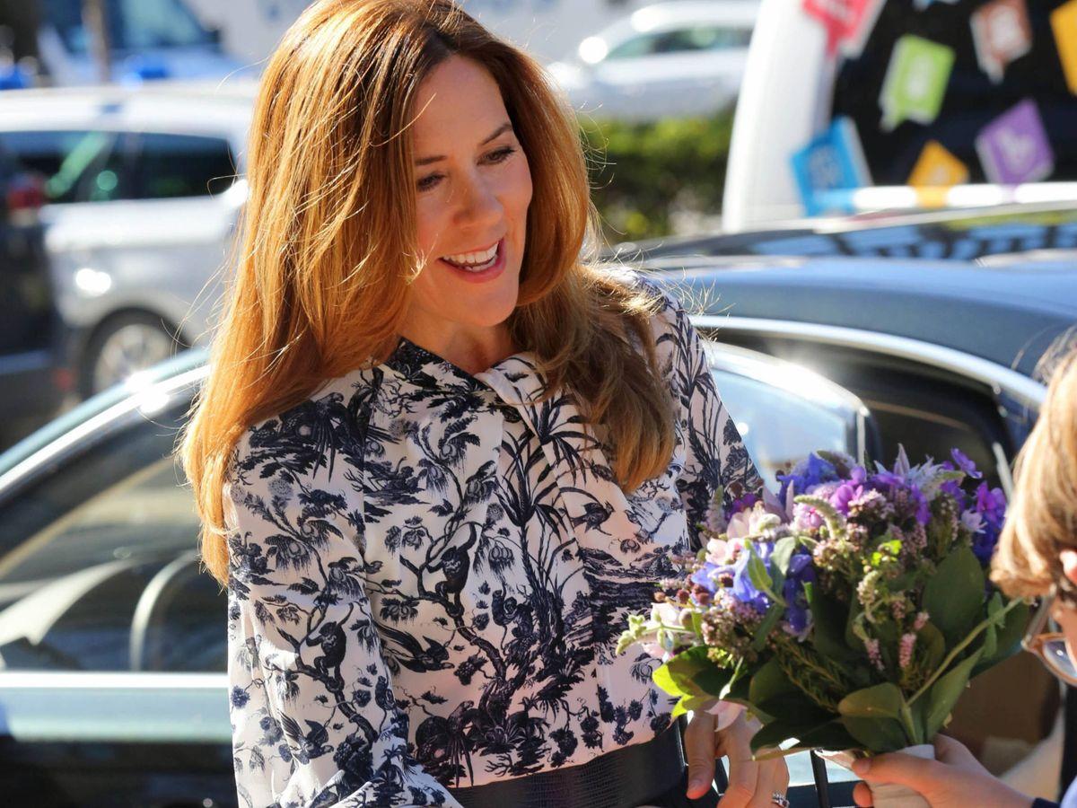 Foto: La princesa Mary de Dinamarca. (Cordon Press)