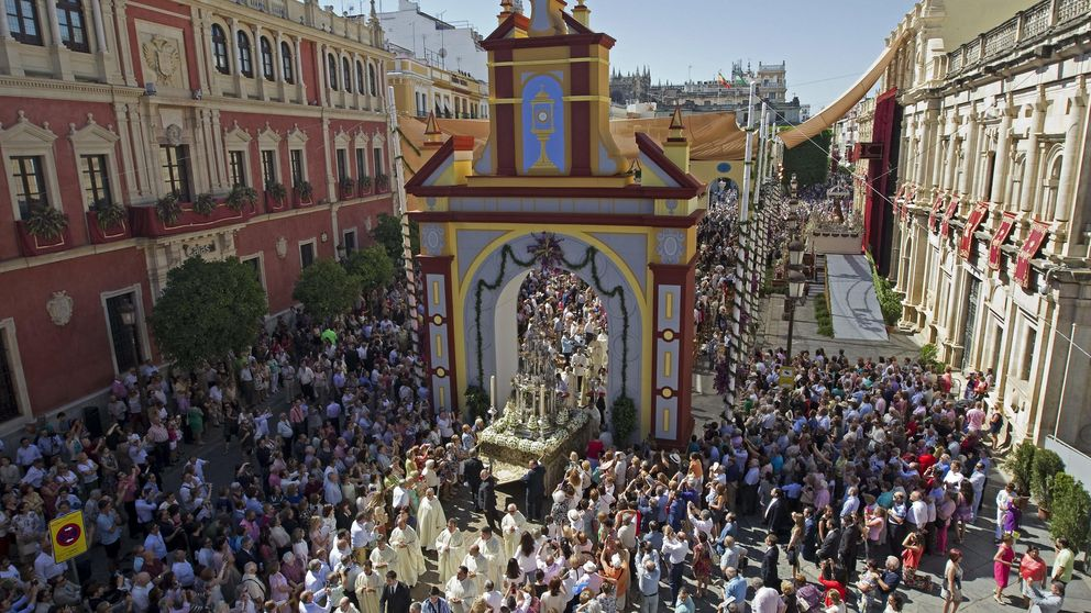 Las imágenes del Corpus Christi