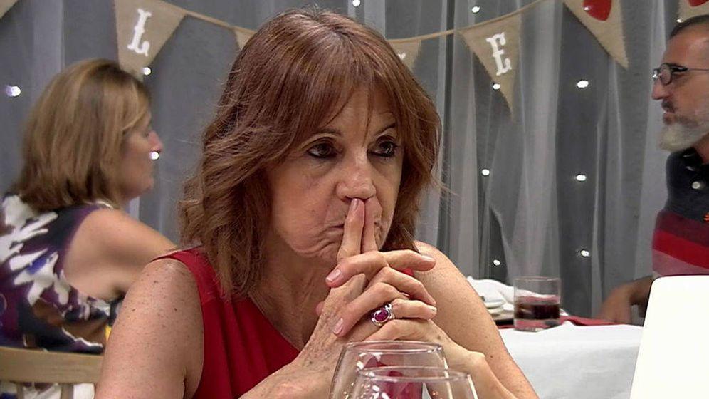 Foto: Maribel, ante su desastrosa cita en 'First dates': Quiero morirme. (Cuatro)