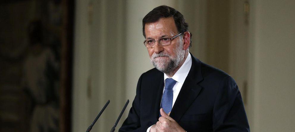Foto: Mariano Rajoy en la rueda de prensa de este viernes. (Reuters)