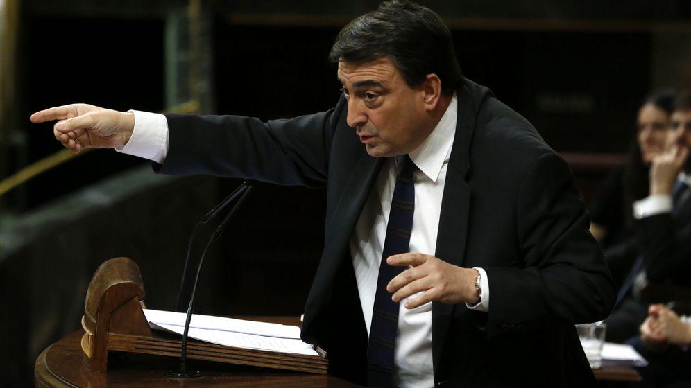 Foto: El portavoz parlamentario del PNV, Aitor Esteban. (EFE)