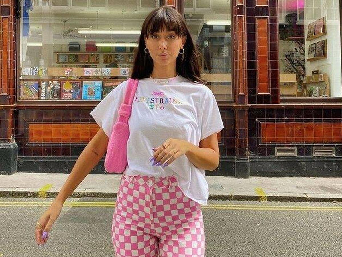 Foto: El pantalón estampado se ha convertido en la nueva tendencia entre las expertas de moda. (Instagram @kitristudio)