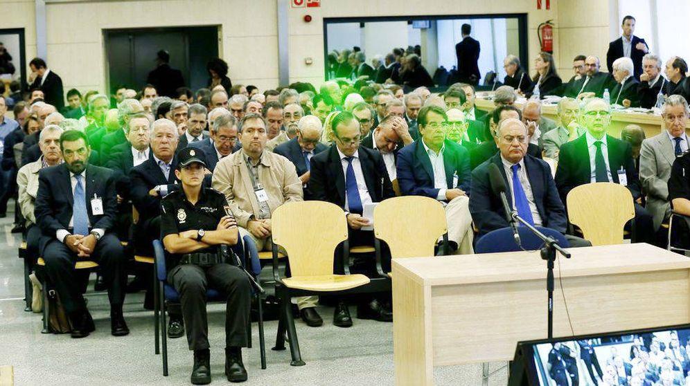 Foto: Imagen del juicio de las 'black'. (EFE)