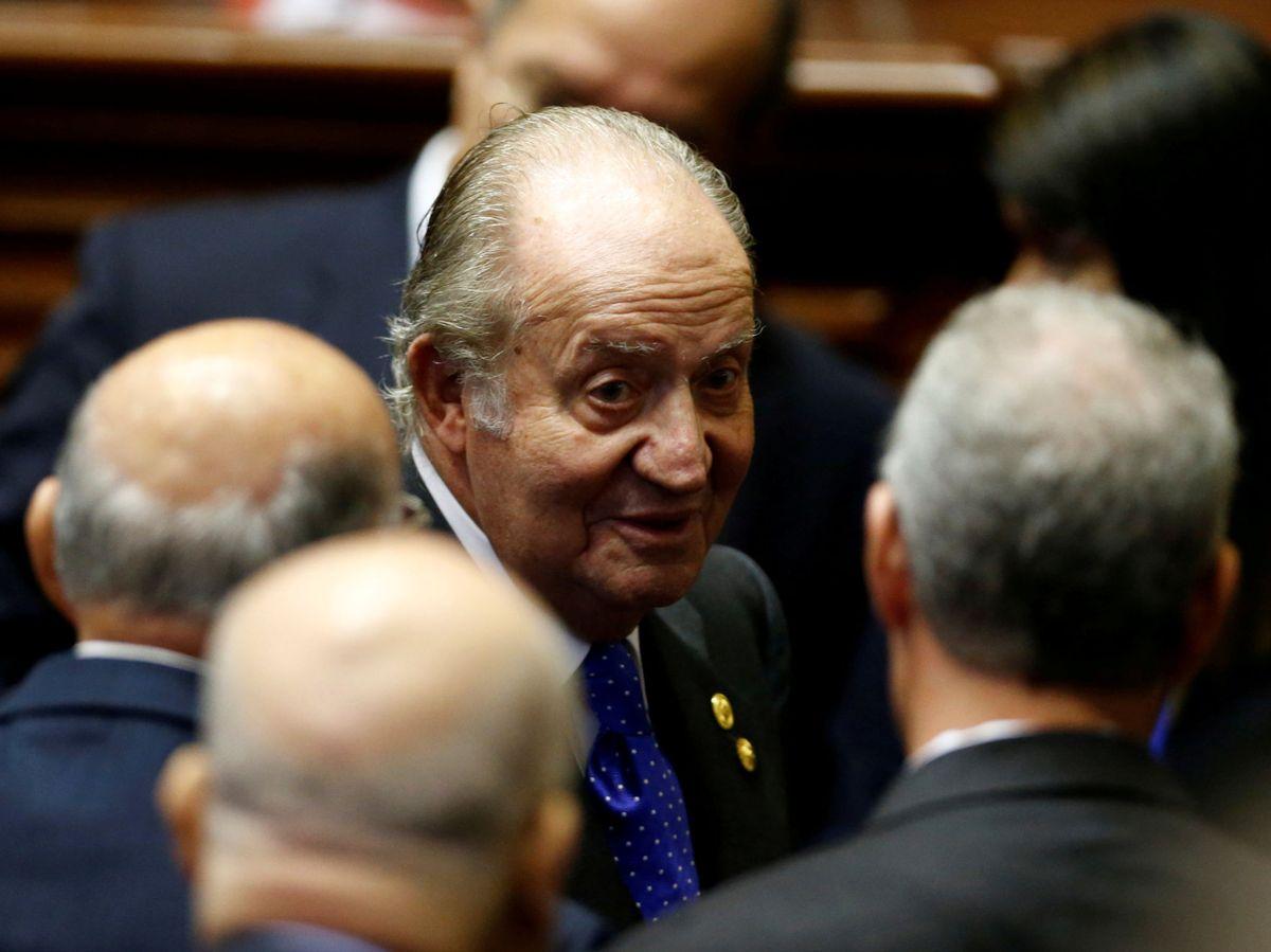 Foto: Imagen de archivo del rey Juan Carlos. (Reuters)