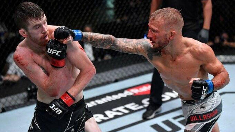 UFC Vegas 32: T.J. Dillashaw regresa con una victoria justísima sobre Cory Sandhagen
