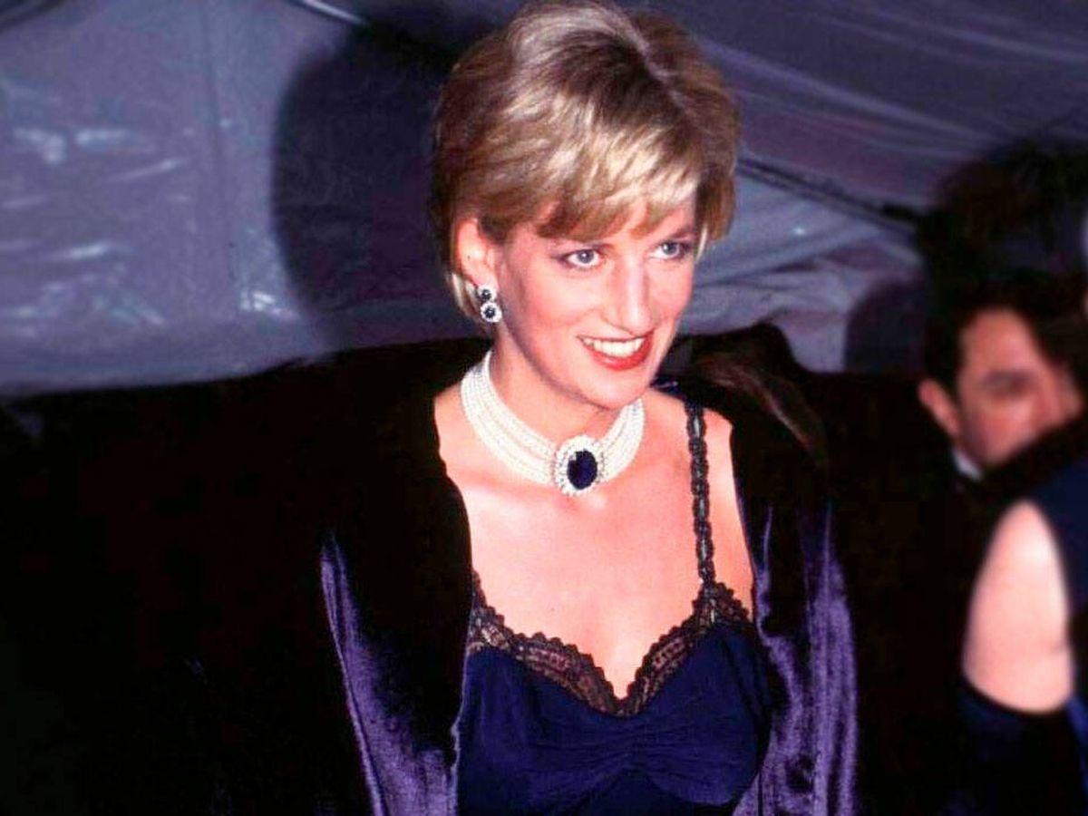 Foto: Lady Di, en la gala MET. (Cordon Press)