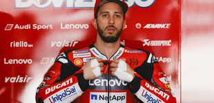 Post de Dovizioso se fractura la clavícula en una carrera de motocross en el peor momento