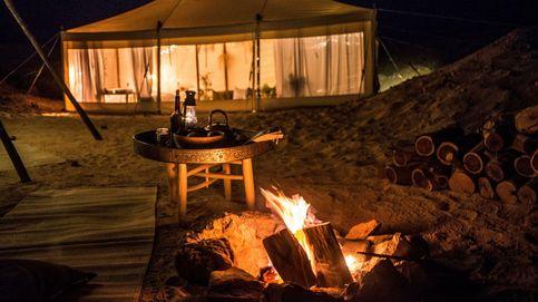 Un camping de lujo en mitad del desierto