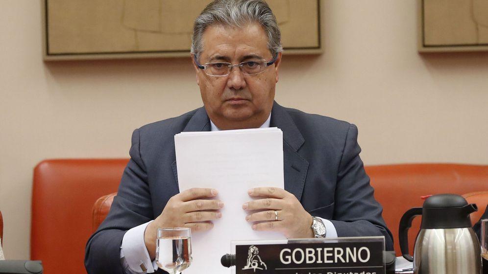 Foto: Comparecencia del ministro del Interior, Juan Ignacio Zoido. (EFE)