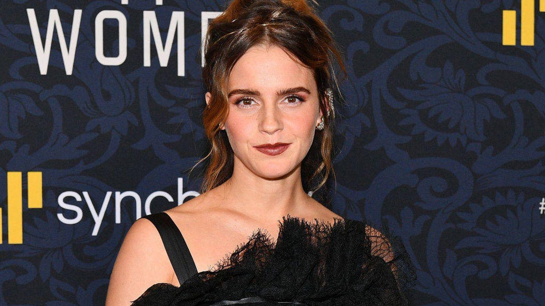 Emma Watson, en Nueva York. (Getty)