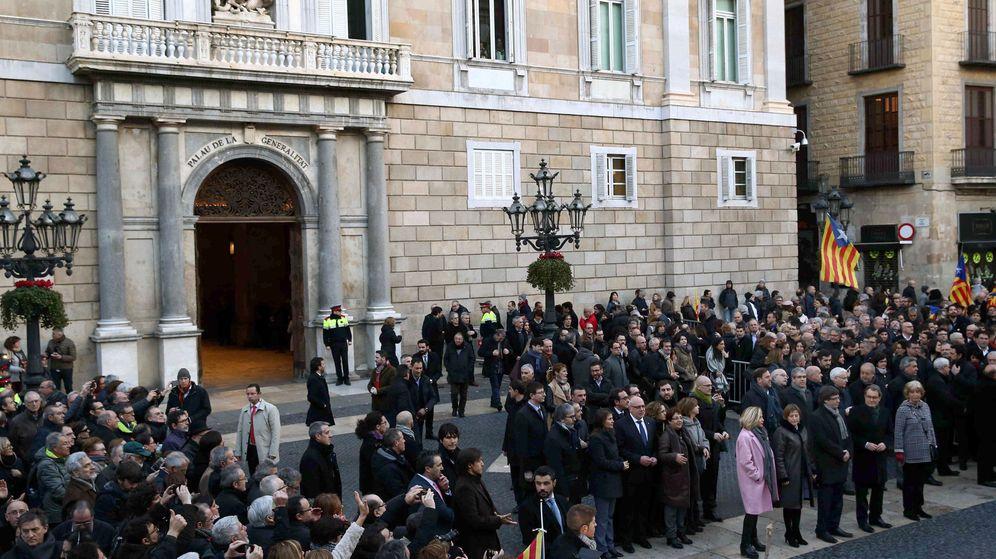 Foto: El TSJ en el juicio contra Artur Mas. (EFE)