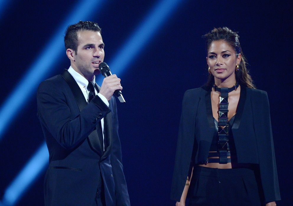 Foto: Cesc Fábregas este miércoles en los Brit Awards (I.C.)