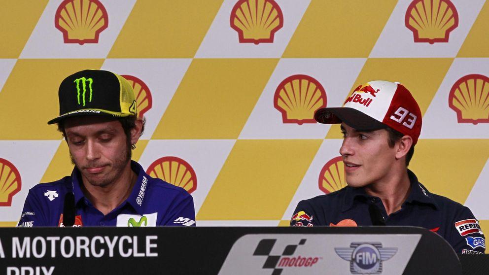Rossi contra Márquez: Prefiere que gane Lorenzo porque me tiene rabia