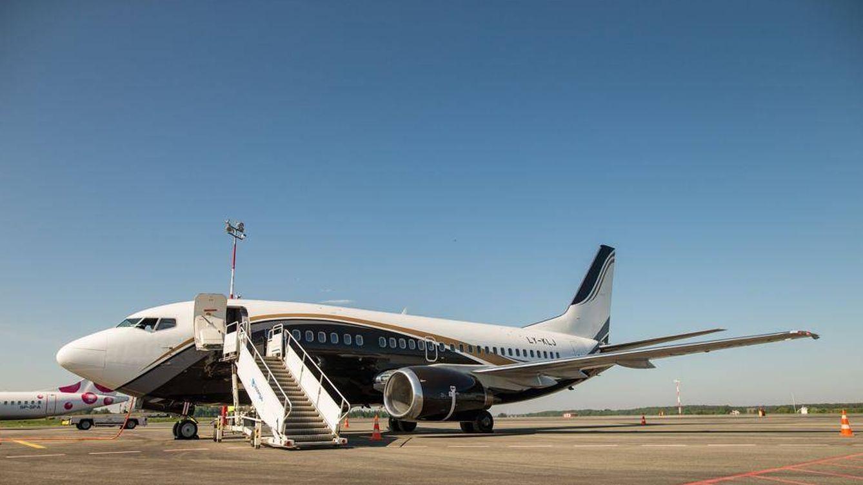 Un fallo del Boeing 737 del Zalgiris Kaunas le obliga a aterrizar de emergencia en Madrid